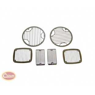 Crown Automotive crown-488427 Protecciones para Focos