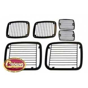 Crown Automotive crown-488626 Protecciones para Focos