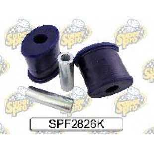 Kit silentblock brazos inferiores tipo Oval para utilizar con casquillo exterior original
